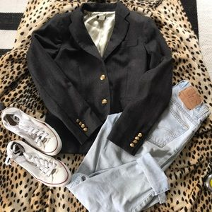 J. Crew schoolboy blazer